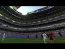 Гол Фигу в матче легенд Реала и Ромы глазами Роберто Карлоса. Шикарно!