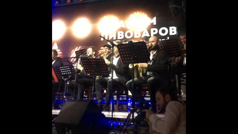 Артем Пивоваров - Кислород (Kaska Orchestra) @Live Kiev 23 November 2017