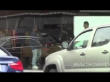 Video of Justin spotted out in West Hollywood, California