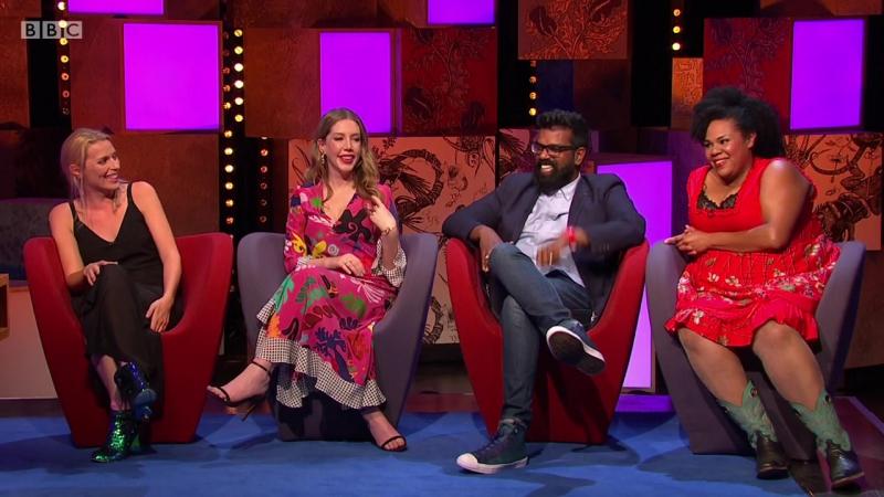 Frankie Boyle's New World Order 1x04 - Desiree Burch, Sara Pascoe, Romesh Ranganathan, Katherine Ryan