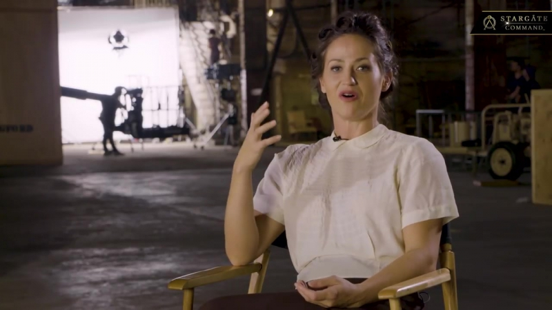 Kelly Vint Castro On Playing Young Catherine Langford - STARGATE- Origins