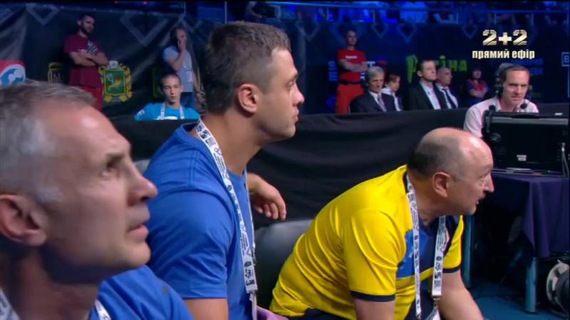 Чемпіонат Європи з боксу. ФІНАЛ (91 КГ) Фрейзер Едвард Кларк (ENG) vs Віктор Вихрист (Україна)