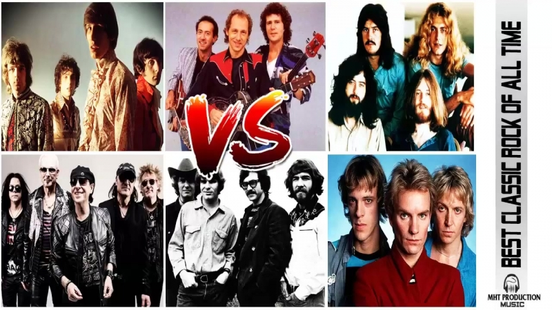 Pink Floyd,Dire Straits,Led Zeppelin,Fleetwood Mac,The Police,Scorpions,CCR _ Gr
