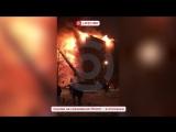 В Тюмени горит жилой дом