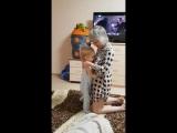 Арслан топает с мамулей