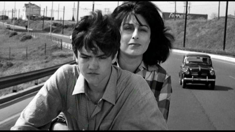 «Мама Рома»  1962  Режиссер: Пьер Паоло Пазолини   драма