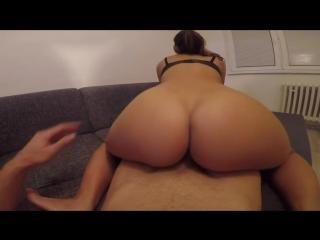 Hot girlfriend enjoys teasing and riding hard! | claudiaclass