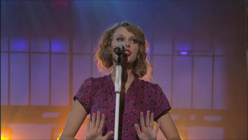 Taylor Swift - Speak Now (Live at Ed Sullivan Theatre in New York 2010)