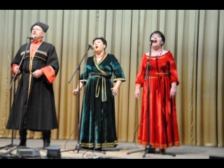 трио народного ансамбля