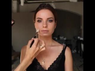 Нежный выразительный макияж