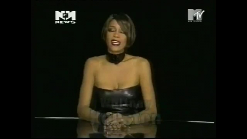 Rare Whitney Houston on the set of ITS NOT RIGHT BUT ITS OKAY videoshoot