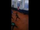 Тренировочный процесс боксеров благоварского района