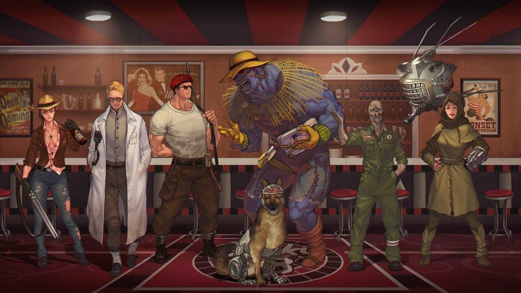 Fallout New Vegas (компаньоны)