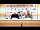 Пресс-конференция после матча Строитель - Волга : 1-7.