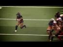 Женский американский футбол! Лучшие моменты!