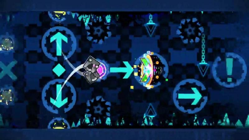 Geometry Dash by Kreemons - Blue HeLL (Easy Demon)