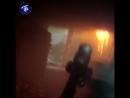 Тушение пожара в Шлиссельбурге: взгляд от первого лица