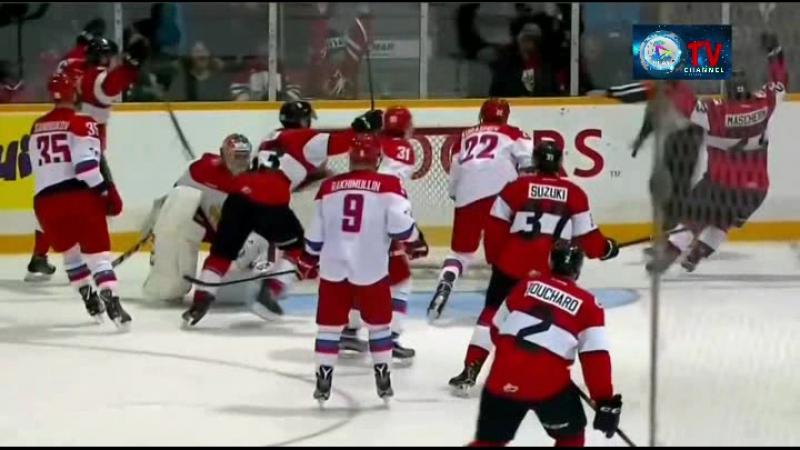 U-20 Суперсерия Россия - Канада (Антария). 3-й матч
