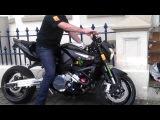 Big CC Racing Suzuki B-King 1340 cc Turbo Charged Start and Rev 500 bhp+