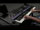 Arpeggio Funk Guitar recreates a strumming guitar effect Yamaha Genos