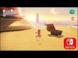 Super Mario Odyssey - Beach Gameplay Nintendo Switch Full HD 60Fps