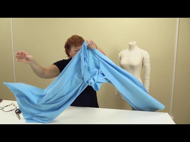 Как сшить кюлоты Выкройка от юбки полусолнце Моделирование и раскрой кюлотов своими руками Часть 2