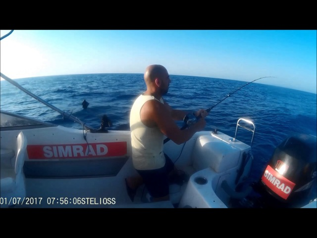Cyprus Tuna Fishing with Simrad No2 - www.deepbreathphotography.com