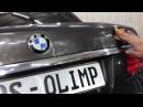 BMW 740 полировка фар, керамика с гидроотталкивающей функцией и стеклянным блеском...