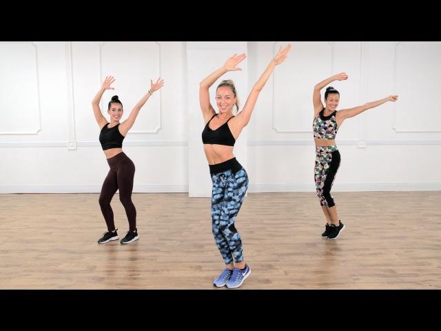 30-минутная тренировка кардио и тонус | Класс FitSugar. 30-Minute Cardio Dance and Toning Workout | Class FitSugar