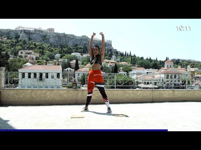 24-минутная тренировка пресса и ягодиц из Афин, Греция. 24 min Abs Butt Workout from Athens, Greece