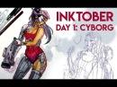 Inktober Day 01 jacquelin Deleon 2017