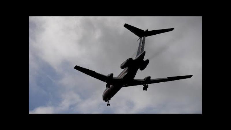 Туполев Ту-134АК RA-65726 Космос-РКК Энергия, Полёт ради полёта 07.10.2017