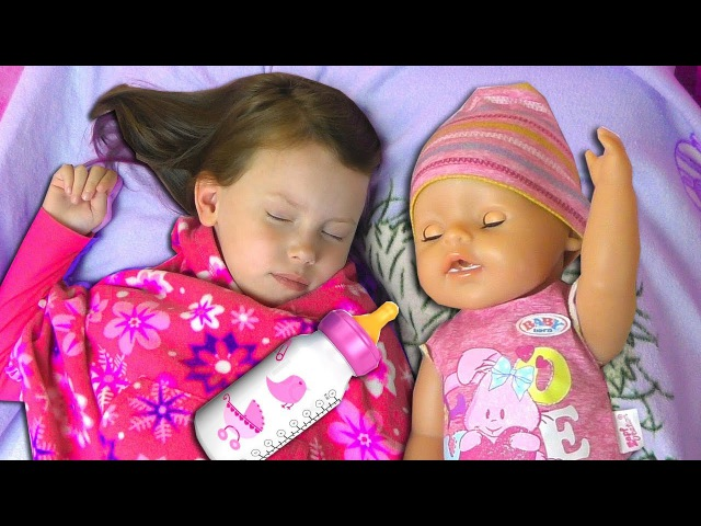 Сrying baby doll Are You Sleeping song nursery rhymes songs for children learn colors with Baby