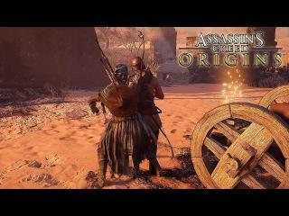 Assassins Creed Origins - Stealth Gameplay 4K @ 2160p HD ✔