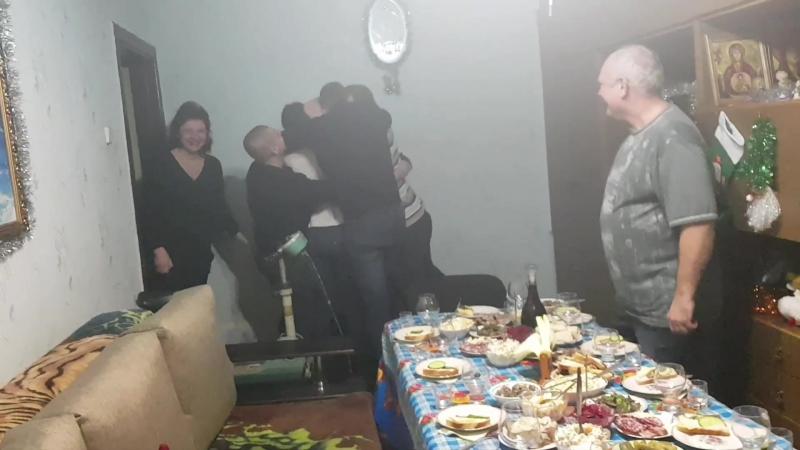 Братва встречает)