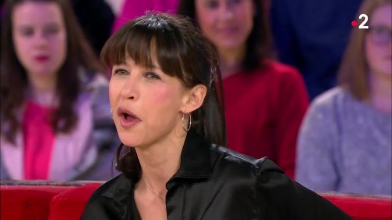 Sophie Marceau Vivement dimanche prochain F2 04 03 18