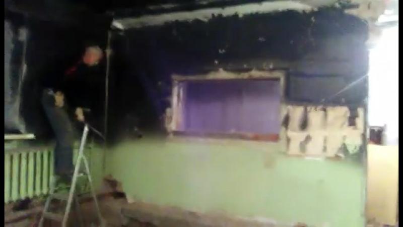 Ул. Пастухова Демонтаж стены из кирпича 15м2