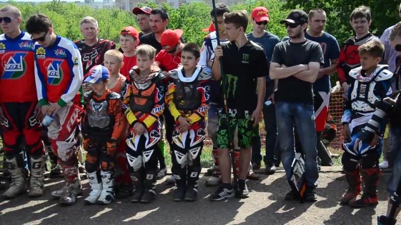 Открытие 1-го этапа Кубка РБ по мотокроссу-2014
