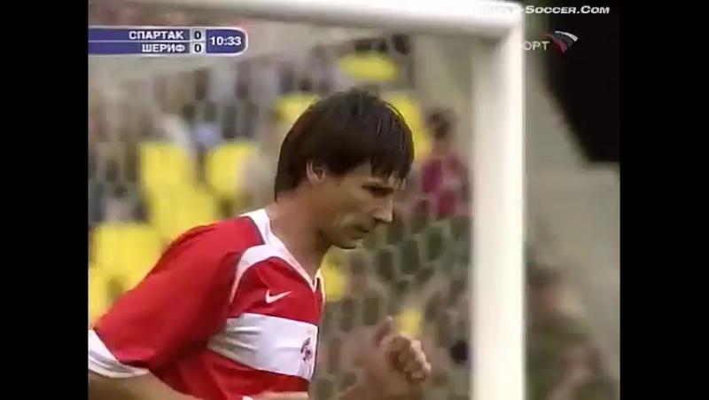 Лига Чемпионов 2006/07. Спартак (Москва) - Шериф (Молдавия) - 0:0 (0:0)