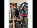 Изабелла фон Вайзенберг присед 185 кг на 2