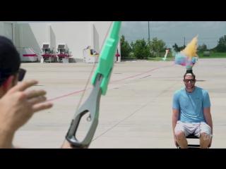 Стрельба из Nerf луков - Dude Perfect