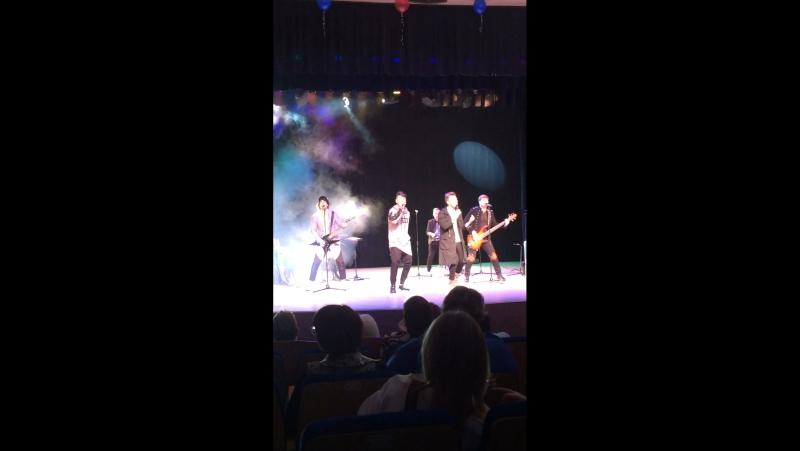 Открытие концерта группы НА-НА в г. Нягань ХМАО-Югра Тюменская область