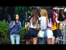 [FANCAM] 23.06.17 9MUSES on the way to Music Bank