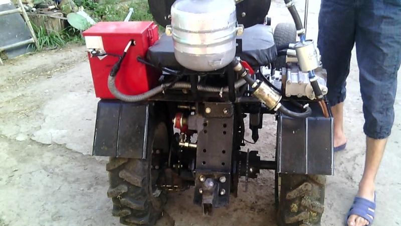 гидравлика на мини трактори