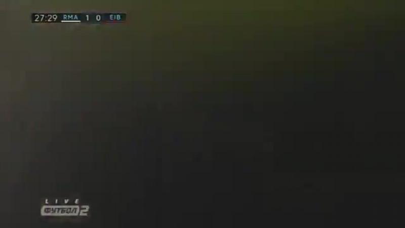 Ре ал Ма дрид 3 0 Эи бар Обзор матча Футбол Чемпионат Испании 22 10 2017