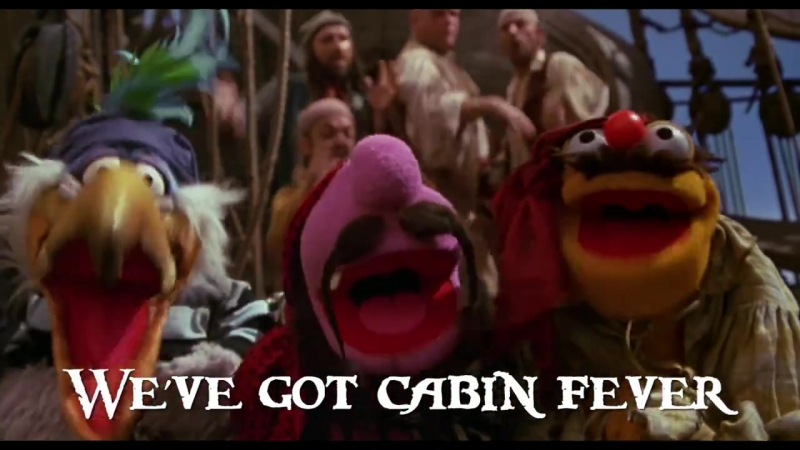 Muppet Treasure Island - Cabin Fever