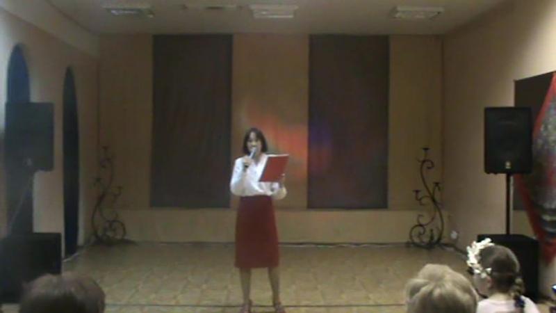 Ольга Едутова читает стихи ,посвященные России