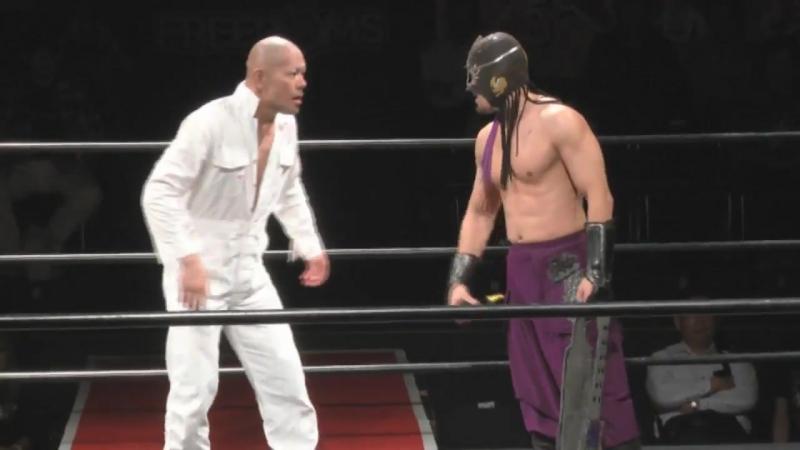 Kenichiro Arai, Masamune vs. PSYCHO, Yuya Susumu (FREEDOMS - Kisotengai Damz Tamashi 2017)
