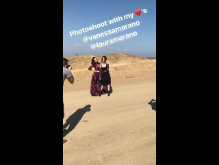 Личное видео с фотосессии Ванессы и Лоры (24/08/17)