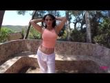 Anastasia Harris cute brunette HD big tits strip ero big ass pov milf